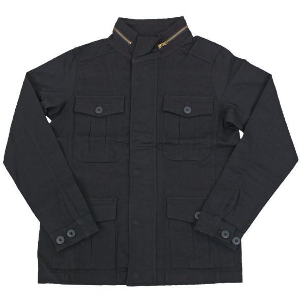 ミリタリージャケット メンズ m65 カーキ ブラック ブルゾン M-65 ジャケット コットンツイル ストレッチ素材 無地 フライトジャケット アウター|topism|18