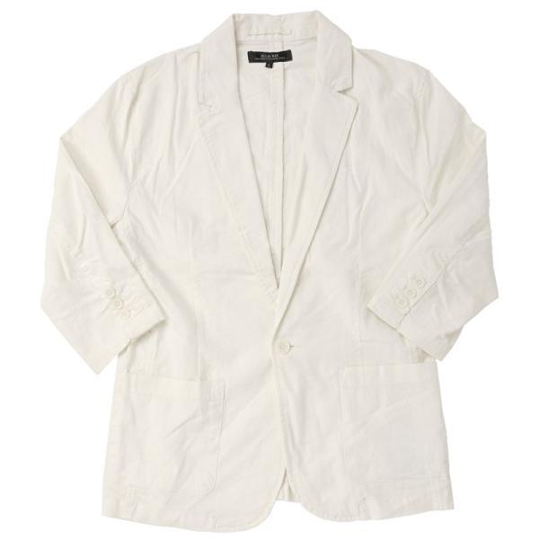 テーラードジャケット メンズ 綿麻 リネン 麻 7分袖 長袖 サマージャケット 綿 コットン ノッチドラペル メンズファッション 春夏|topism|22