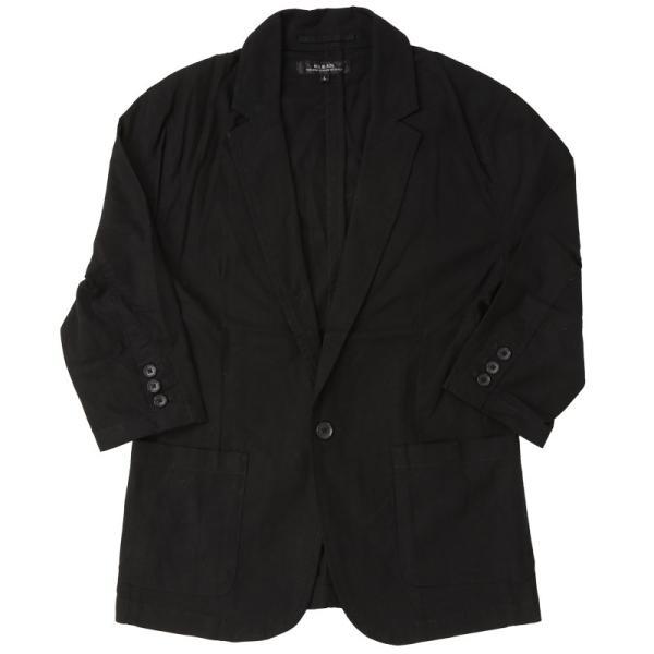 テーラードジャケット メンズ 綿麻 リネン 麻 7分袖 長袖 サマージャケット 綿 コットン ノッチドラペル メンズファッション 春夏|topism|23