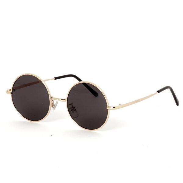 サングラス メンズ カラーレンズ 伊達メガネ 眼鏡 伊達めがね 丸メガネ ラウンドフレーム おしゃれ 人気 スモーク ライトカラー ブルー topism 18