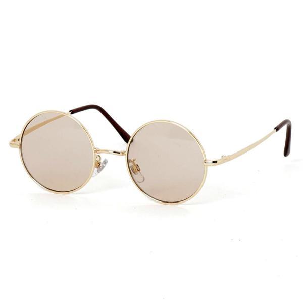 サングラス メンズ カラーレンズ 伊達メガネ 眼鏡 伊達めがね 丸メガネ ラウンドフレーム おしゃれ 人気 スモーク ライトカラー ブルー topism 19