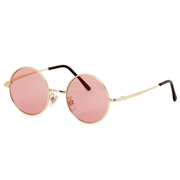 サングラス メンズ カラーレンズ 伊達メガネ 眼鏡 伊達めがね 丸メガネ ラウンドフレーム おしゃれ 人気 スモーク ライトカラー ブルー topism 21