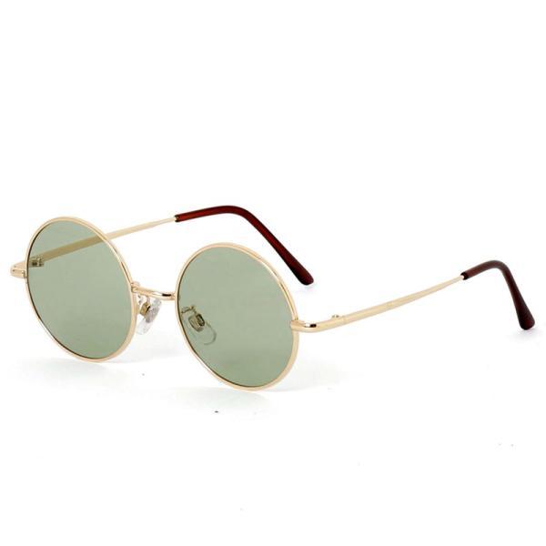 サングラス メンズ カラーレンズ 伊達メガネ 眼鏡 伊達めがね 丸メガネ ラウンドフレーム おしゃれ 人気 スモーク ライトカラー ブルー topism 23