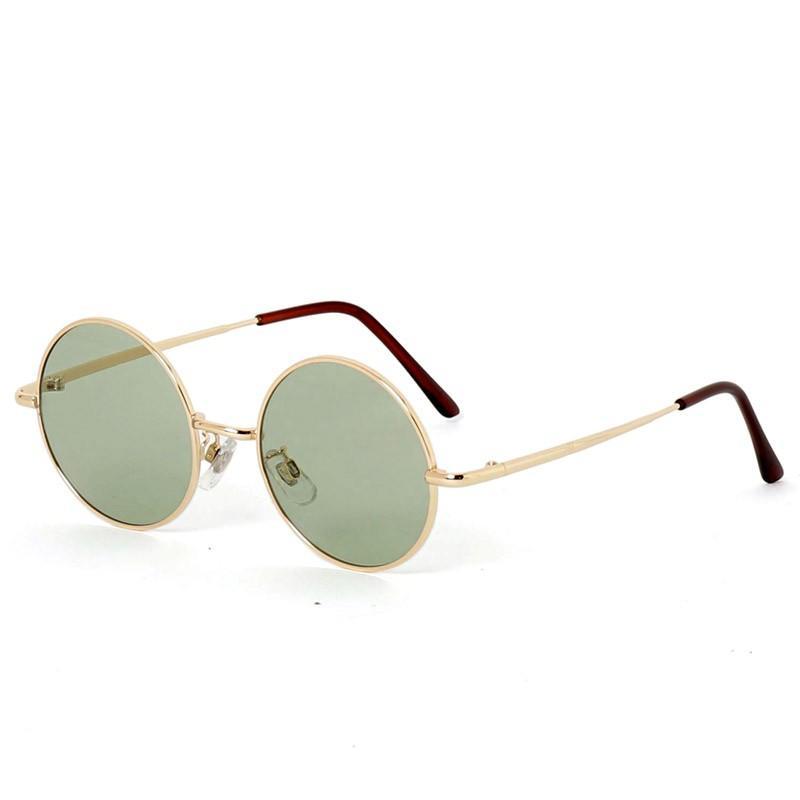 サングラス メンズ カラーレンズ 伊達メガネ 眼鏡 伊達めがね 丸メガネ ラウンドフレーム おしゃれ 人気 スモーク ライトカラー ブルー|topism|23