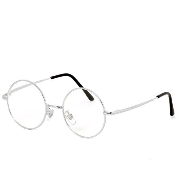 サングラス メンズ カラーレンズ 伊達メガネ 眼鏡 伊達めがね 丸メガネ ラウンドフレーム おしゃれ 人気 スモーク ライトカラー ブルー topism 26