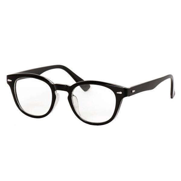 サングラス メンズ カラーレンズ 伊達メガネ 眼鏡 メガネ 伊達めがね 黒ぶち眼鏡 UVカット ウェリントン スモーク ライトカラー おしゃれ 人気 ブルー ブラック|topism|16