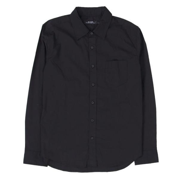 シャツ メンズ 無地 長袖 カジュアルシャツ ストレッチ 白シャツ ブロード 綿 コットン ドレスシャツ メンズファッション トップス|topism|22