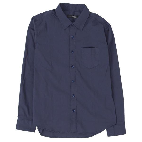 シャツ メンズ 無地 長袖 カジュアルシャツ ストレッチ 白シャツ ブロード 綿 コットン ドレスシャツ メンズファッション トップス|topism|26