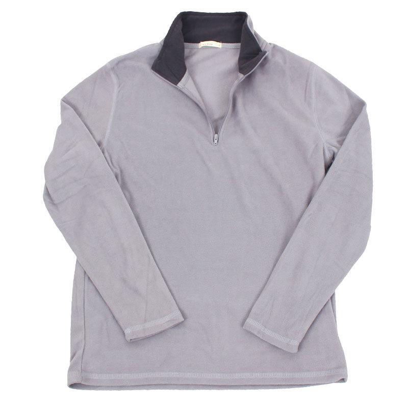 フリース メンズ トレーナー 暖あったか 無地 ハーフジップ ニット セーター トップス 秋冬|topism|23