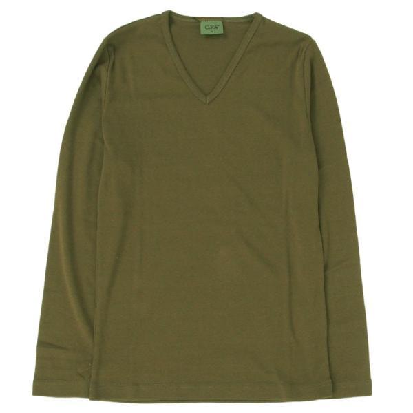 ロンT メンズ Tシャツ 長袖Tシャツ 長袖 7分袖 カットソー 無地 Vネック ロングTシャツ シンプル インナー トップス|topism|24