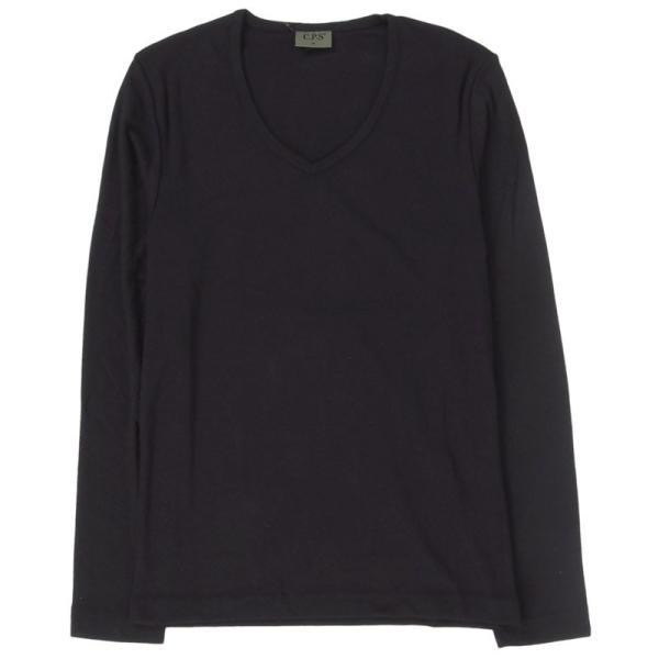 ロンT メンズ Tシャツ 長袖Tシャツ 長袖 7分袖 カットソー 無地 Vネック ロングTシャツ シンプル インナー トップス|topism|25