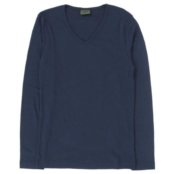 ロンT メンズ Tシャツ 長袖Tシャツ 長袖 7分袖 カットソー 無地 Vネック ロングTシャツ シンプル インナー トップス|topism|26