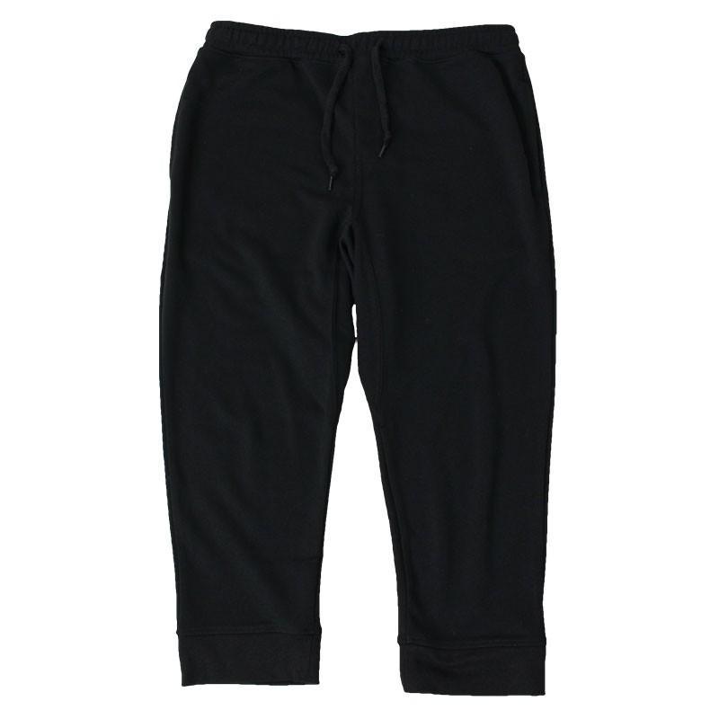クロップドパンツ メンズ ジョガーパンツ サルエルパンツ スウェットパンツ 7分丈 ハーフパンツ 無地 ライン入り ボトムス 裾リブ|topism|22