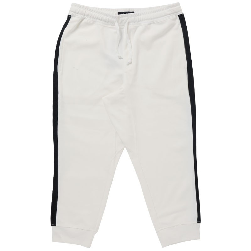 クロップドパンツ メンズ ジョガーパンツ サルエルパンツ スウェットパンツ 7分丈 ハーフパンツ 無地 ライン入り ボトムス 裾リブ|topism|33