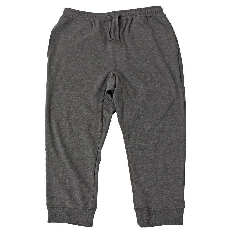 クロップドパンツ メンズ ジョガーパンツ サルエルパンツ スウェットパンツ 7分丈 ハーフパンツ 無地 ライン入り ボトムス 裾リブ|topism|24