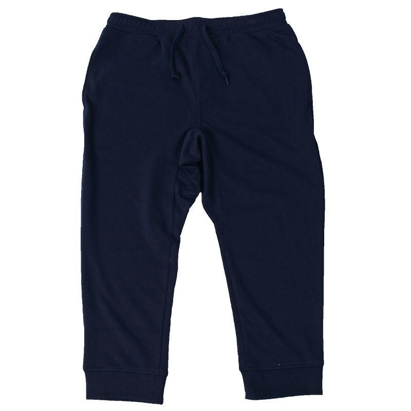 クロップドパンツ メンズ ジョガーパンツ サルエルパンツ スウェットパンツ 7分丈 ハーフパンツ 無地 ライン入り ボトムス 裾リブ|topism|25