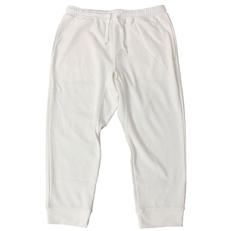 クロップドパンツ メンズ ジョガーパンツ サルエルパンツ スウェットパンツ 7分丈 ハーフパンツ 無地 ライン入り ボトムス 裾リブ|topism|27