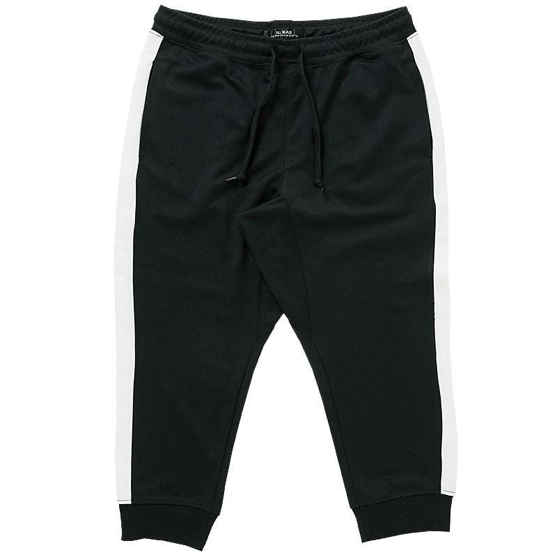 クロップドパンツ メンズ ジョガーパンツ サルエルパンツ スウェットパンツ 7分丈 ハーフパンツ 無地 ライン入り ボトムス 裾リブ|topism|28