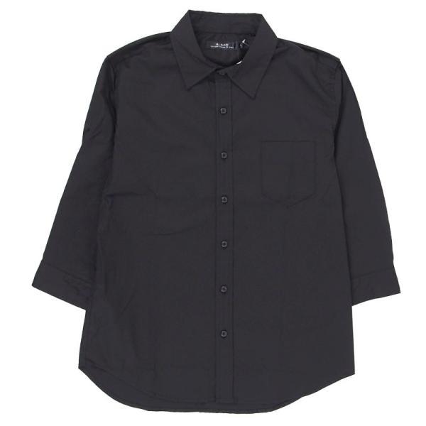シャツ メンズ 無地 7分袖 カジュアルシャツ 半袖 ストレッチ 白シャツ トップス ブロード 綿 コットン ドレスシャツ メンズファッション 七分袖シャツ topism 22