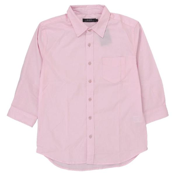 シャツ メンズ 無地 7分袖 カジュアルシャツ 半袖 ストレッチ 白シャツ トップス ブロード 綿 コットン ドレスシャツ メンズファッション 七分袖シャツ topism 24