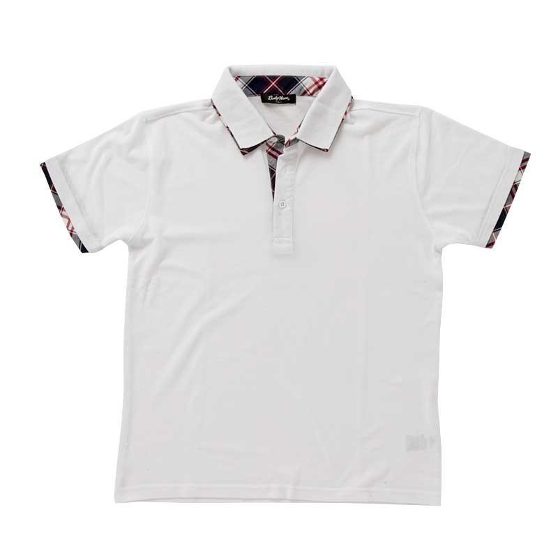 ポロシャツ メンズ 半袖 無地 ポロシャツ 鹿の子 チェック ビズポロ ビジネス Tシャツ 衿 襟 トップス メンズファッション|topism|23