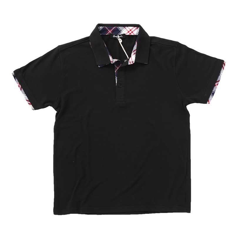 ポロシャツ メンズ 半袖 無地 ポロシャツ 鹿の子 チェック ビズポロ ビジネス Tシャツ 衿 襟 トップス メンズファッション|topism|24