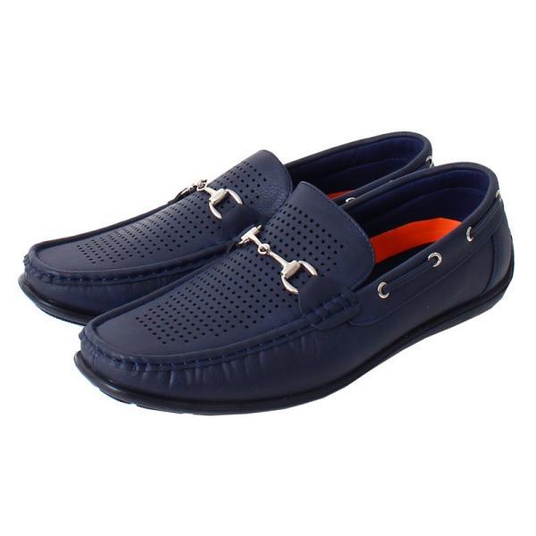 ドライビングシューズ メンズ カジュアルシューズ ローファー ローカット モカシン 短靴 靴 オペラシューズ メッシュ ビット 春 夏 メンズファッション|topism|12