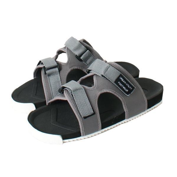 サンダル メンズ スポーツサンダル ベルクロ マジックテープ アウトドアサンダル シャワーサンダル ストラップ 無地 シューズ 靴 軽量 夏 シャークソール|topism|14