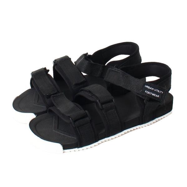 サンダル メンズ スポーツサンダル ベルクロ マジックテープ アウトドアサンダル シャワーサンダル ストラップ 無地 シューズ 靴 軽量 夏 シャークソール|topism|16