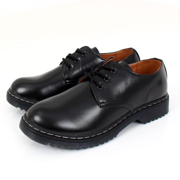 メンズカジュアルシューズ クリアソール 3ホール レースアップ 短靴 ローカット オックスフォード ドレスシューズ 靴 ローファー ブーツ|topism|13