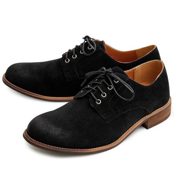 オックスフォードシューズ メンズ バブーシュ カジュアルシューズ レースアップ ローカット プレーントゥ メンズファッション メンズ靴 靴 短靴 紳士靴|topism|26