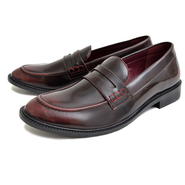 ローファー メンズ カジュアルシューズ コインローファー 靴 短靴 シューズ ビジネスシューズ スリッポン ローカット|topism|16