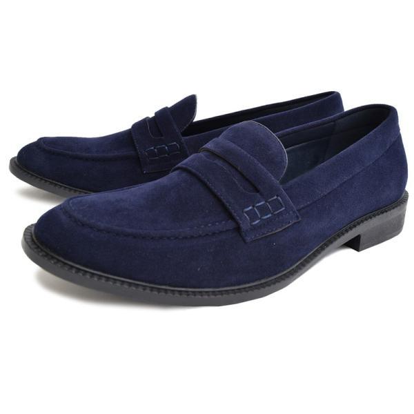 ローファー メンズ カジュアルシューズ コインローファー 靴 短靴 シューズ ビジネスシューズ スリッポン ローカット|topism|18