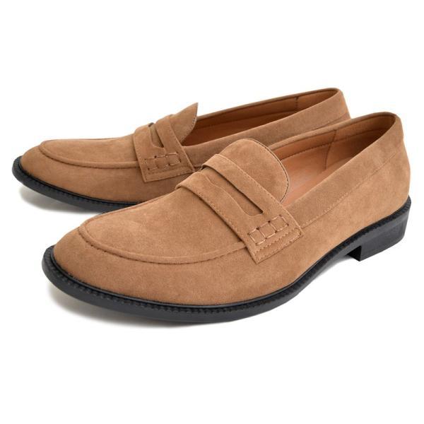 ローファー メンズ カジュアルシューズ コインローファー 靴 短靴 シューズ ビジネスシューズ スリッポン ローカット|topism|19