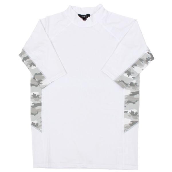 メンズラッシュガード メンズ水着 UVカット 9分袖 半袖 長袖 Tシャツ 4WAYストレッチ素材 無地 カモフラ迷彩柄 オルテガ柄 ボタニカル柄 吸水速乾 水陸両用 topism 33