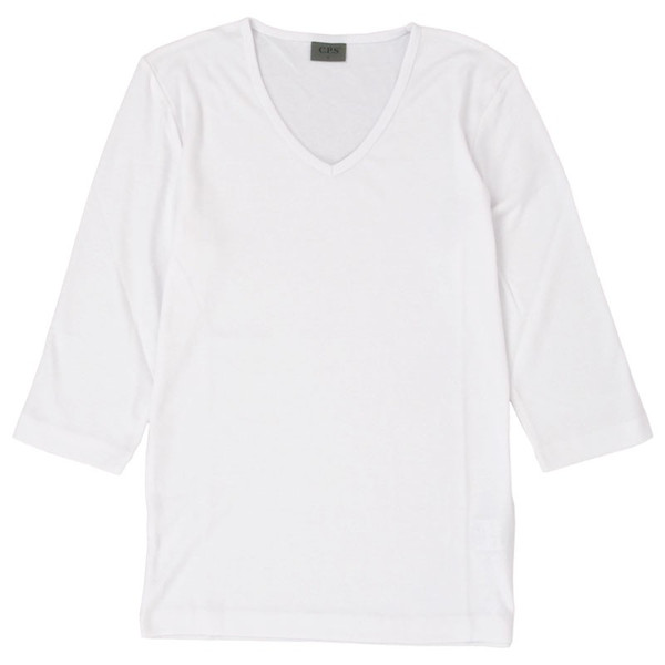 Tシャツ メンズ 半袖 7分袖 無地 カットソー Vネック トップス インナー ストレッチ フライス 七分袖 メンズファッション 脇汗対策シャツ|topism|33