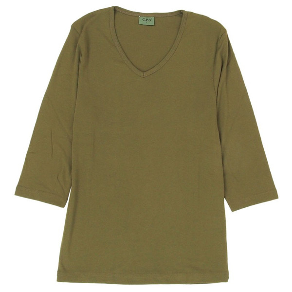 Tシャツ メンズ 半袖 7分袖 無地 カットソー Vネック トップス インナー ストレッチ フライス 七分袖 メンズファッション|topism|37