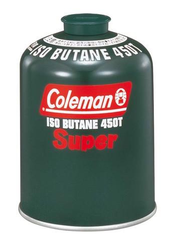 コールマン 純正イソブタンガス燃料[Tタイプ]470g 品番:5103A450T