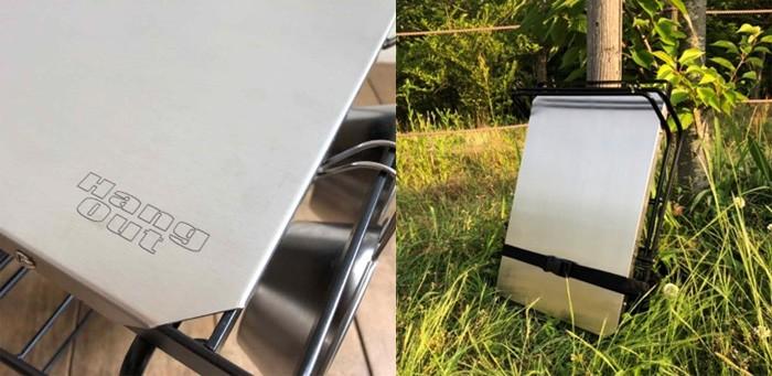 ハングアウト Hang Out ファイヤーサイドテーブル ステンレストップ FRT-5031ST