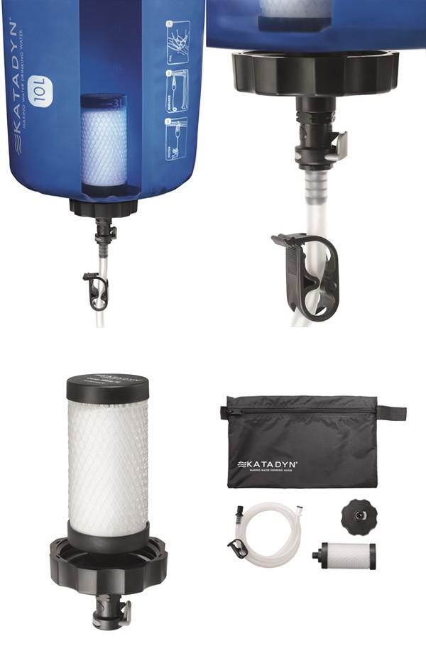 カタダイン KATADYN 携帯用浄水器 ベースキャンププロ 10L 12643