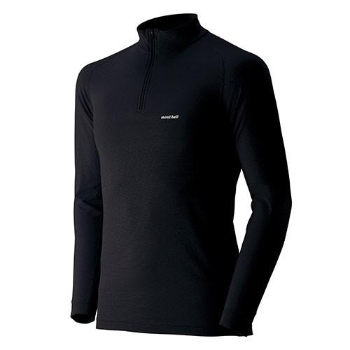 モンベル mont-bell ジオラインL.W. ハイネックシャツ Men's ブラック 1107488