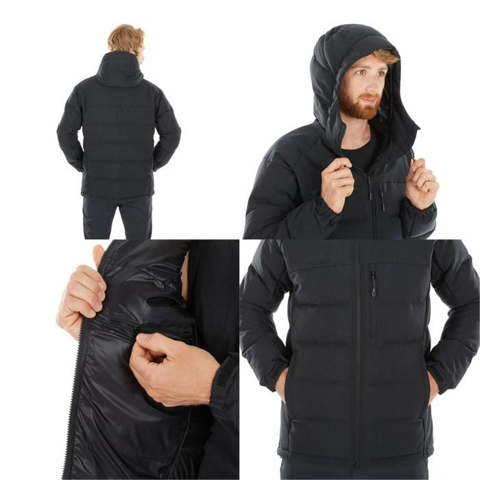 マムート SERAC IN Hooded Jacket Men ブラック 1013-00680-0001