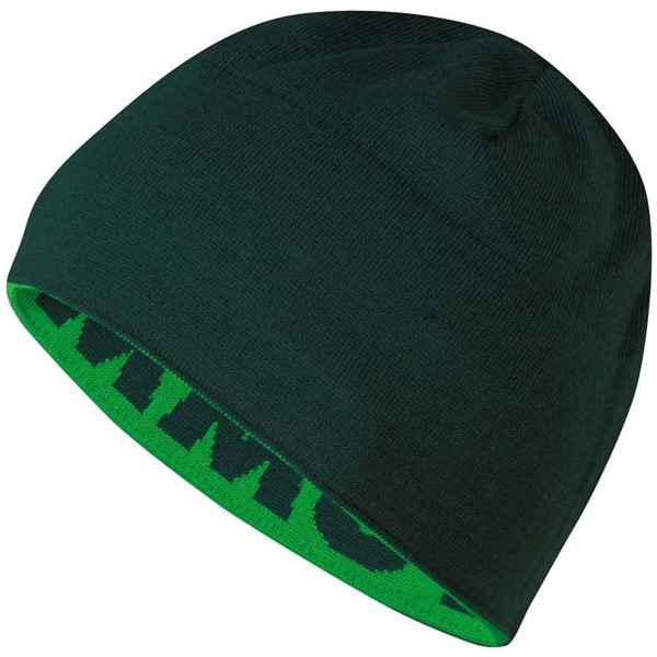 マムート ニット帽子 MAMMUT マムート ロゴ ビーニー Mammut Logo Beanie basil-forest 1090-04890-4521