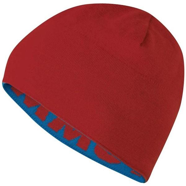 マムート ニット帽子 MAMMUT マムート ロゴ ビーニー Mammut Logo Beanie dark cyan-carmine 1090-04890-5750