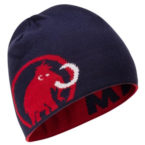マムート Mammut Logo Beanie マムートロゴビーニー スクーター/ピーコート 1191-04891-3573