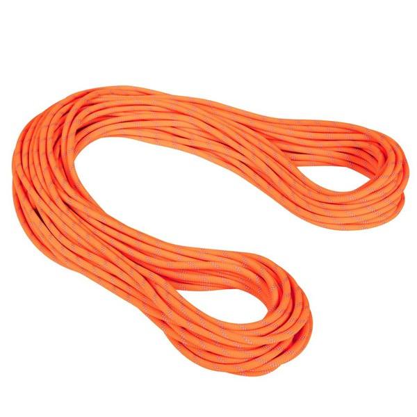 マムート 9.5 Alpine Dry Rope Dry Standard セーフティオレンジ/ゼン 50m 2010-04220-11256