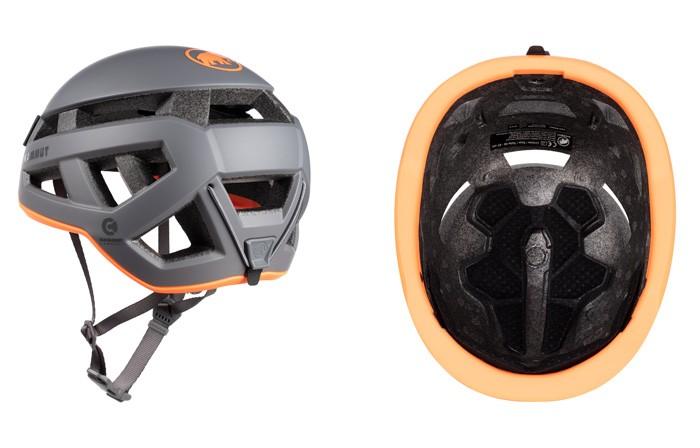 マムート Crag Sender Helmet チタニウム 56-61cm 2030-00260-0051