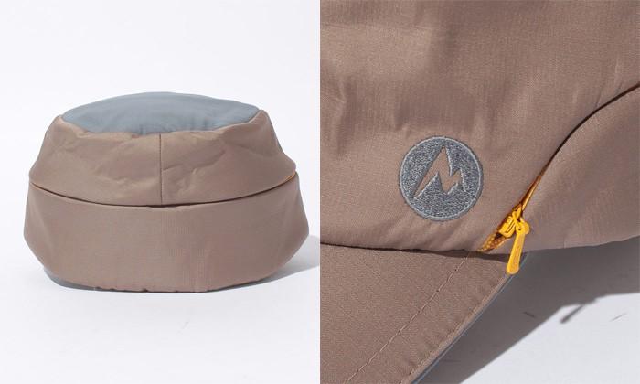 マーモット Marmot ワークキャップ Insulation Spread Workcap ダークベージュ MJC-F5414
