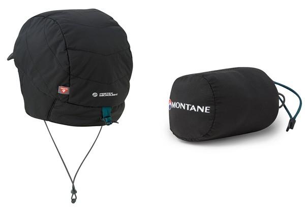 モンテイン MONTANE フェザーライト マウンテン キャップ ブラック GHFEMCJ