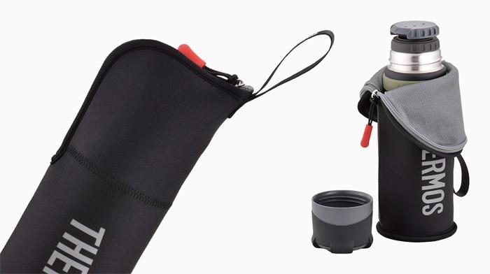 サーモス 山専ボトル専用ポーチ FFX-751Pouch ブラックグレー 0811800112